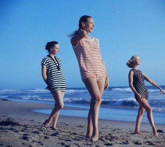 Ретро-купальник 1950 год. Изображение № 26.