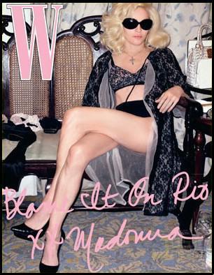 Madonna & Jesus дляWmagazine. Изображение № 10.
