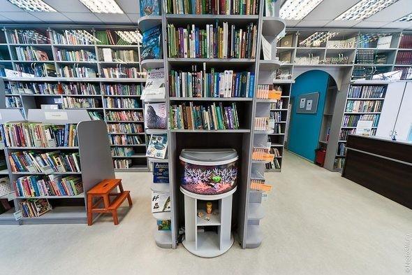 Изображение 3. Библиотека для молодежи.. Изображение № 3.