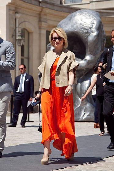 Уличный стиль на Неделе высокой моды в Париже. Изображение № 46.