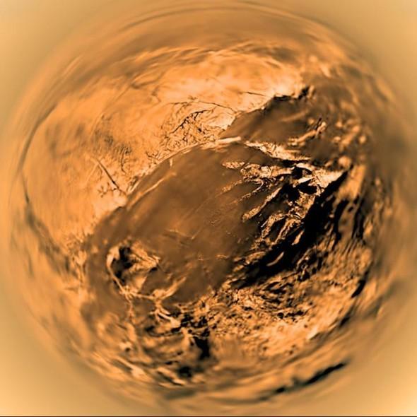 NASA нашло жизнь на спутнике Сатурна. Изображение № 1.