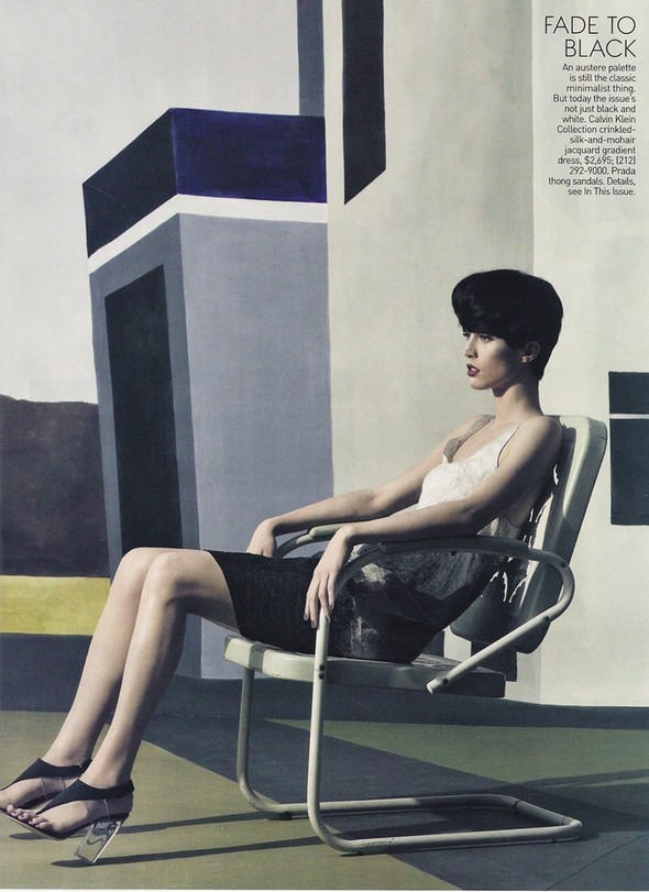 Raquel Zimmermann for US Vogue March 2010. Изображение № 6.