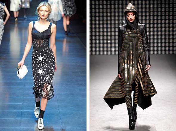 Dolce & Gabbana FW 2011 / Gareth Pugh FW 2011. Изображение № 73.