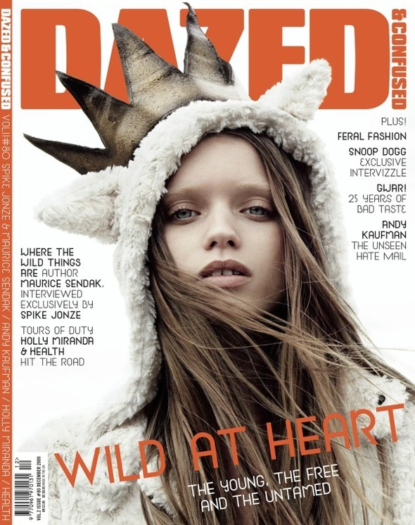 Abbey Lee Kershaw для Dazed & Confused. Изображение № 1.
