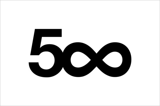 Старый логотип 500px. Изображение № 1.