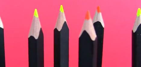 Главное подчеркнуть: флуоресцентные карандаши Moleskine. Изображение № 1.