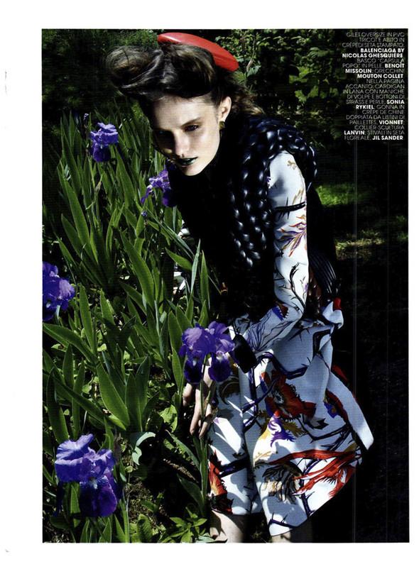 Съёмка: Кэти Фогарти для Marie Claire. Изображение № 10.
