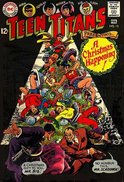 20 новогодних обложек комиксов. Изображение № 5.