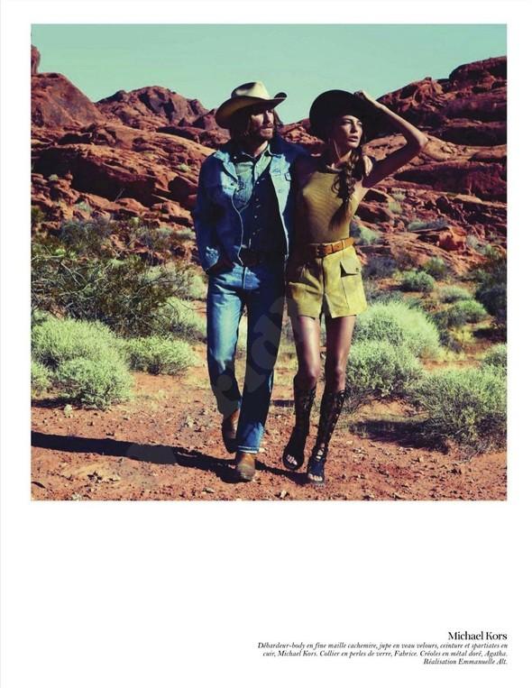 Съёмка: Дарья Вербова для французского Vogue. Изображение № 10.