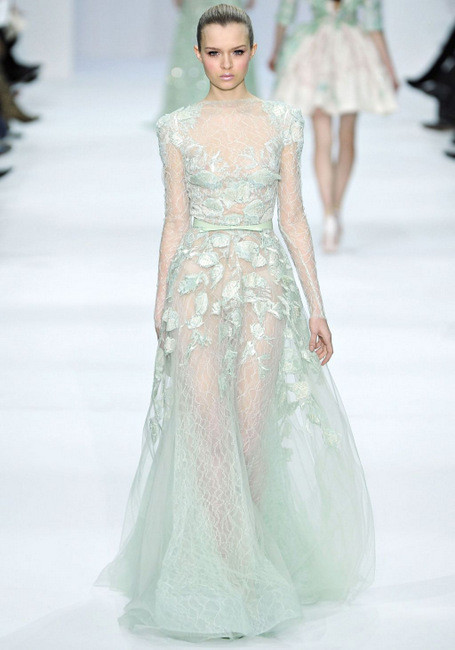Elie Saab Spring 2012 Couture. Изображение № 6.