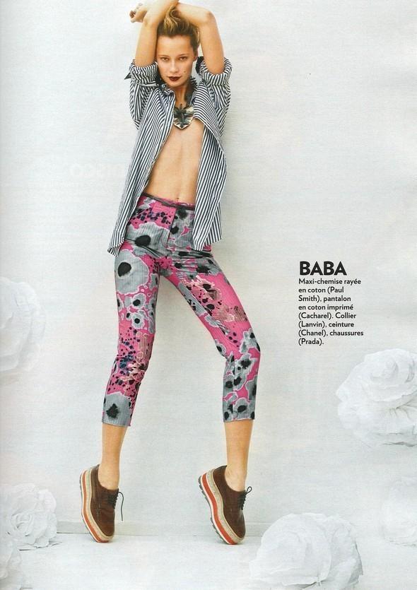 Изображение 118. Съемки: Harper's Bazaar, Industrie, Vogue и другие.. Изображение № 36.