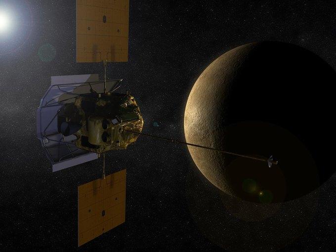 NASA разобьёт аппарат Messenger о Меркурий . Изображение № 1.
