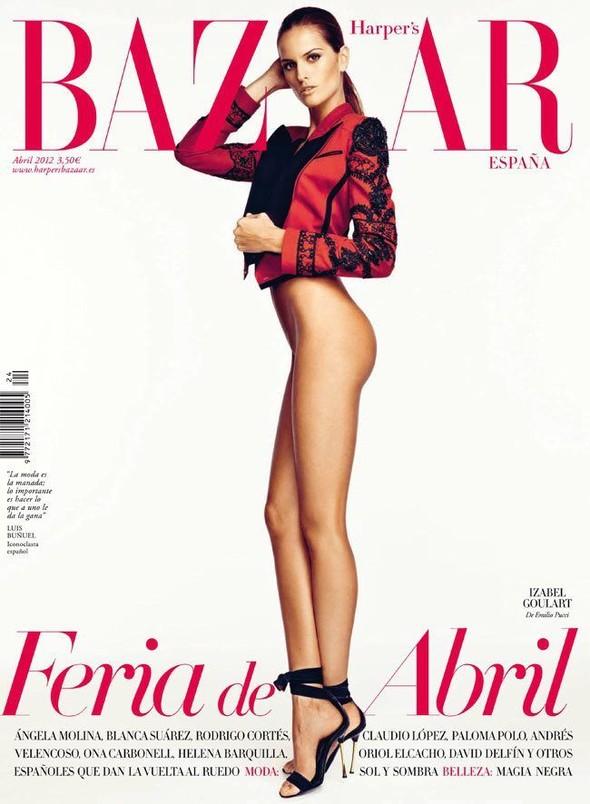 Обложки: i-D, Harper's Bazaar и Vogue. Изображение № 4.