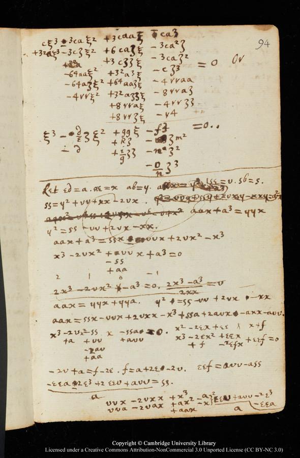 """Черновики Ньютона и первое издание """"Начал"""" выложены в сеть. Изображение № 7."""