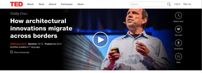 Сайт видеолекций TED сделал редизайн. Изображение № 3.
