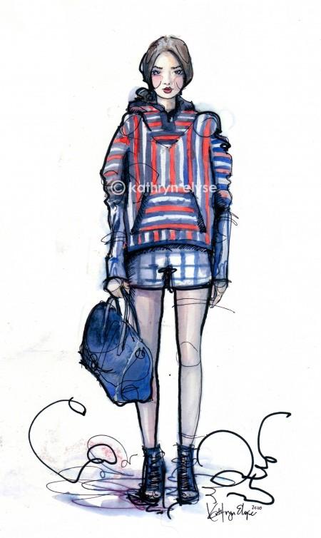 Kathryn Elyse. Fashion Illustrations. Изображение № 16.