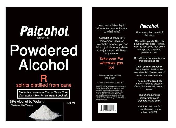 В США одобрили порошкообразный алкоголь. Изображение № 1.
