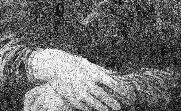 Изображение 3. Невероятный мир картин SAGAKI KEITA.. Изображение № 3.
