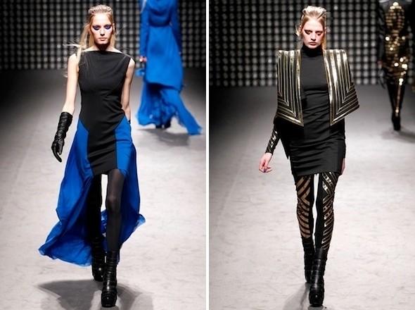 Изображение 4. Показы на Paris Fashion Week FW 2011: день 2.. Изображение № 10.