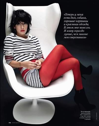 Lily Allen by Karl Lagerfeld for Elle december09. Изображение № 7.