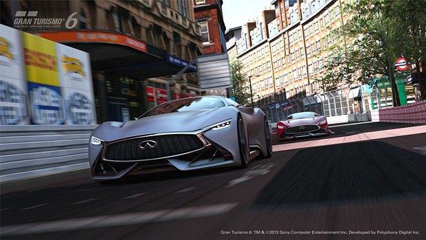 Концепт: суперкар Infiniti для игры Gran Turismo. Изображение № 35.