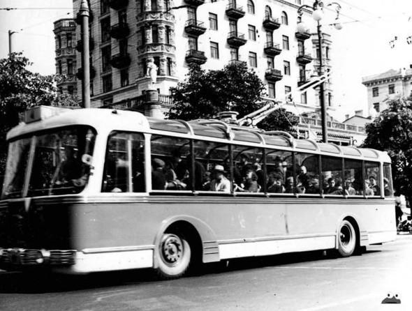 Первые троллейбусы. Изображение № 20.