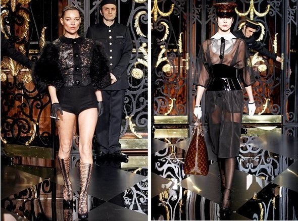 Изображение 1. Показы на Paris Fashion Week FW 2011: день 8.. Изображение № 2.