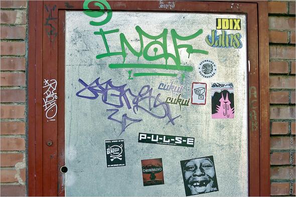 Стрит-арт и граффити Барселоны, Испания. Изображение № 31.