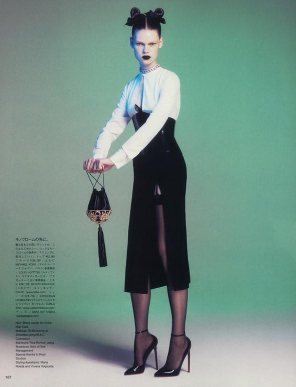 Съёмка: Келли Миттендорф для японского Vogue. Изображение № 6.