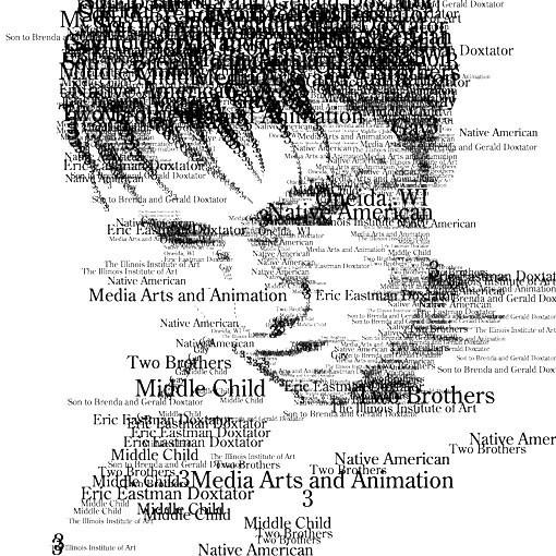Портреты в типографике. Изображение № 17.