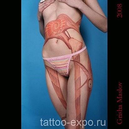 Татуировки в стиле Иннормизма. Изображение № 5.