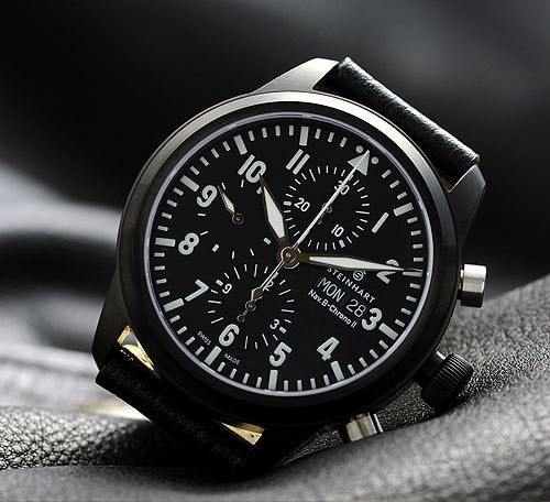 Steinhart Nav B-Chrono II black. 795 EUR (19% VAT incl.). Изображение № 63.