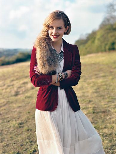 Emma Watson дляTeen Vogue August 2009. Изображение № 2.