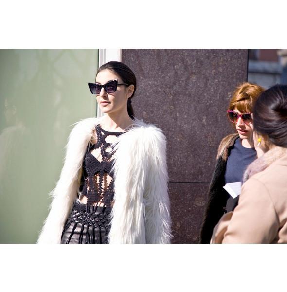 Изображение 116. На полях: 10 тенденций уличного стиля с прошедших недель моды.. Изображение № 116.