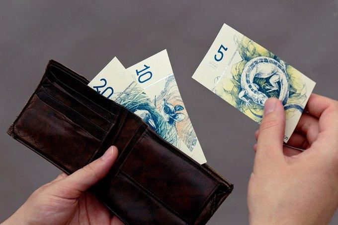Концепт дня: банкноты несуществующих венгерских евро. Изображение № 3.