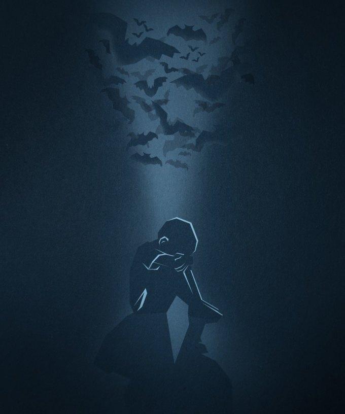 Бэтмен (иллюстрация: thecredits.org). Изображение № 2.