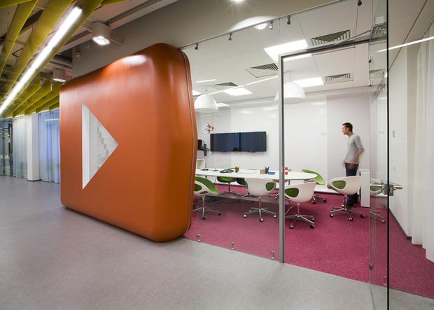 Появились фотографии нового офиса «Яндекса» в Санкт-Петербурге. Изображение № 3.