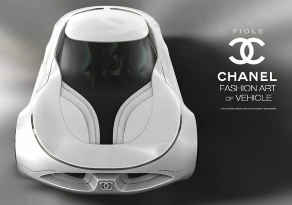 Chanel Fiole – Concept Car Design. Изображение № 8.