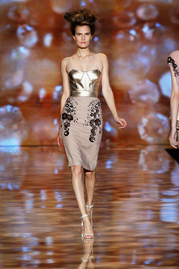 New York Fashion Week: Badgley Mischka Spring 2012. Изображение № 12.