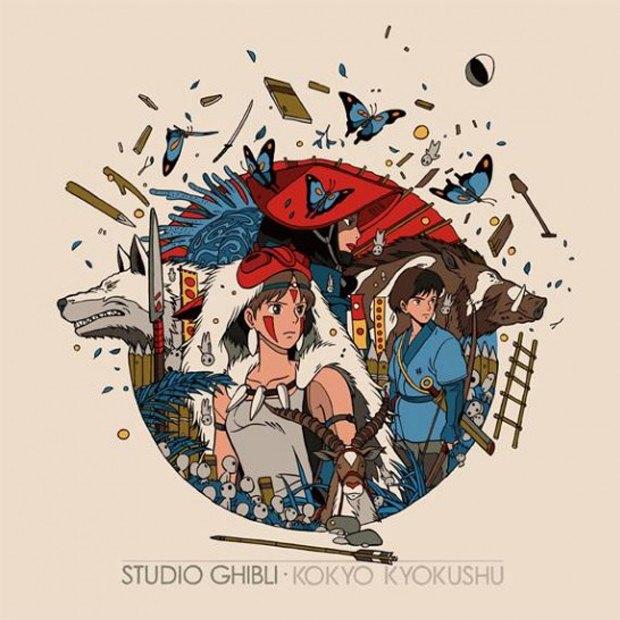 Mondo выпустит альбом с музыкой из аниме Студии Гибли. Изображение № 1.