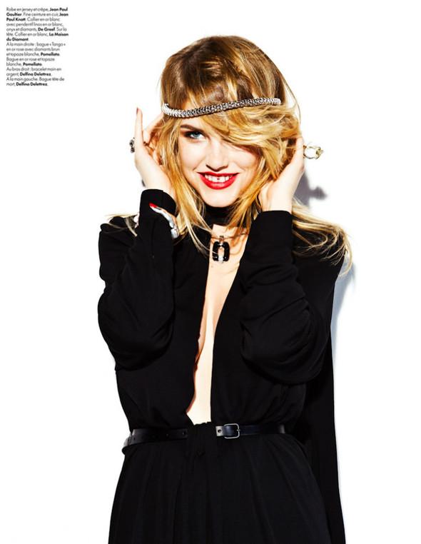 Съёмка: Эшли Смит для Elle. Изображение № 12.