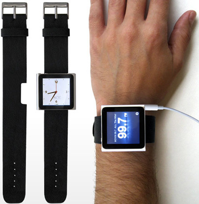 Элегантное превращение iPod nano в эффектные наручные часы. Изображение № 5.