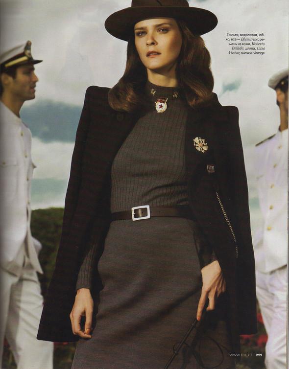 Съёмка: Кармен Касс для российского Elle. Изображение № 8.