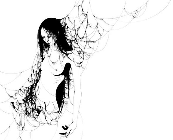 Katsuta Mako – черно-белая грация. Изображение № 38.