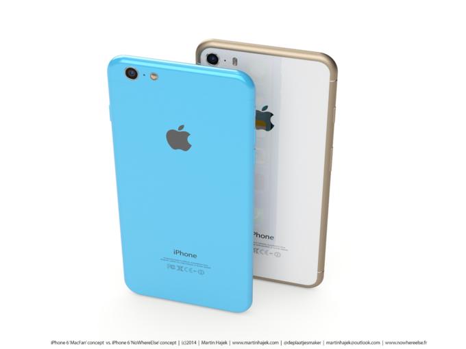 Дизайнер создал концепты iPhone 6s и 6c на основе «слива» из японского журнала. Изображение № 9.