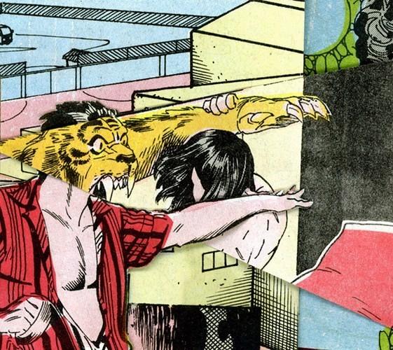 Зловещие и мрачные ретро-иллюстрации, переделанные из детских комиксов. Изображение № 10.