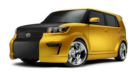 Scionбюджетный вариант дизайнерских авто избудущего. Изображение № 1.