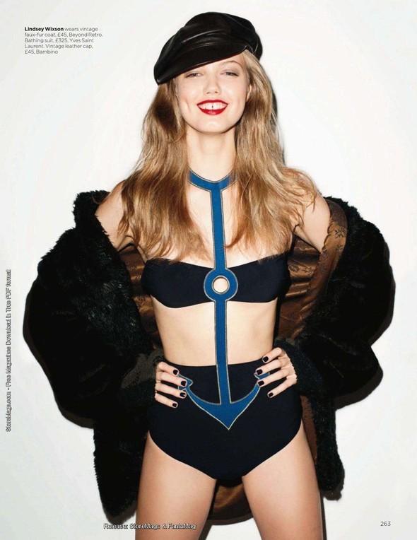 Съёмка: Терри Ричардсон для британского Vogue. Изображение № 18.
