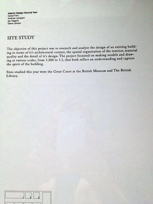 Работы лондонских студентов: Кингстонский университет. Изображение № 32.