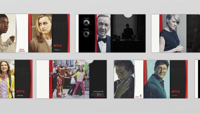 Студия показала новый брендинг Netflix . Изображение № 6.